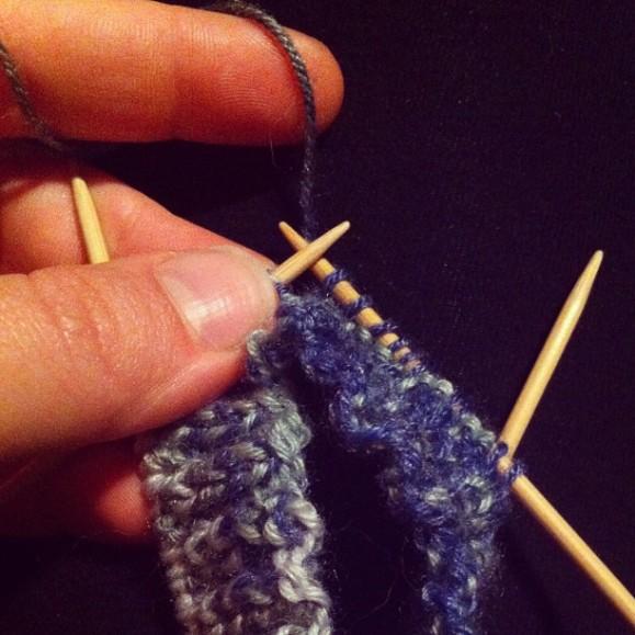 socks! I really like smal yarn.